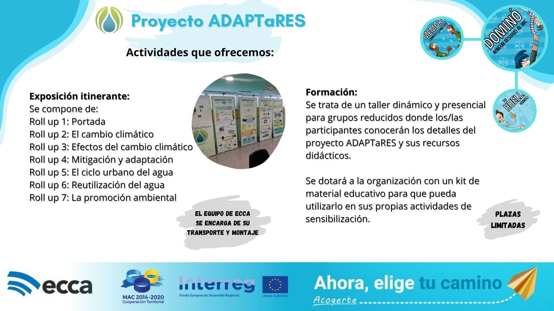 Promoción de la formación y la sensibilización sobre la adaptación al cambio climático en Macaronesia