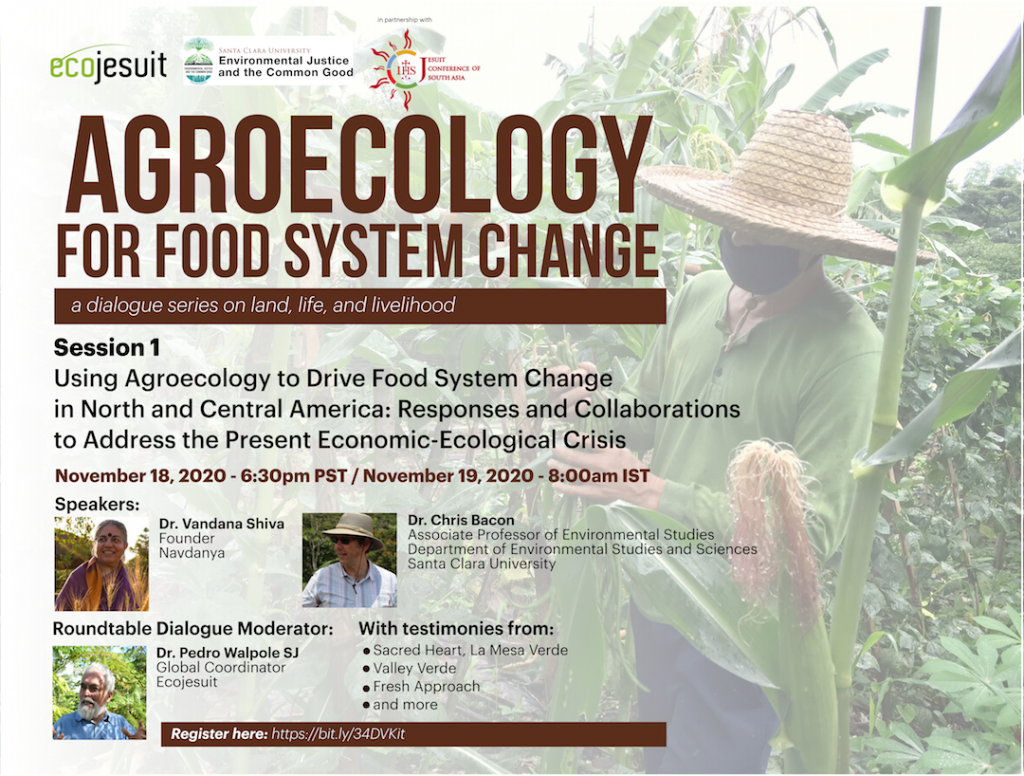 Agroecology for food system change: A dialogue series on land, life, and livelihood