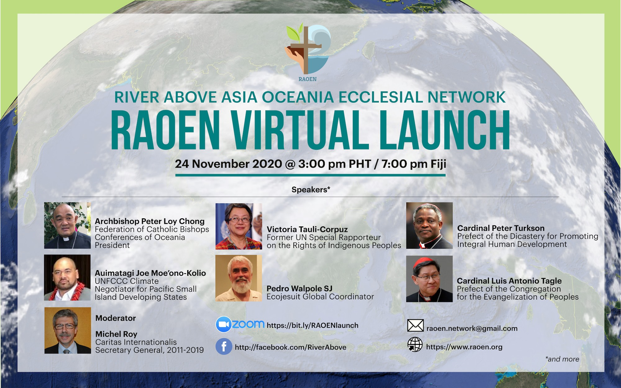 RAOEN, an ecclesial network for forests, ocean, and peoples of Oceania and Asia