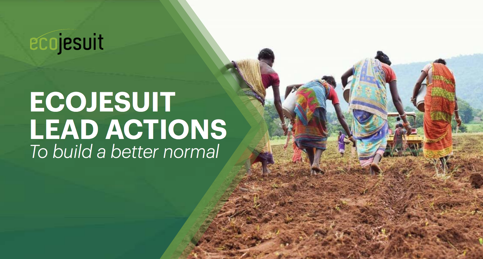 Ecojesuit Lead Actions to build a better normal