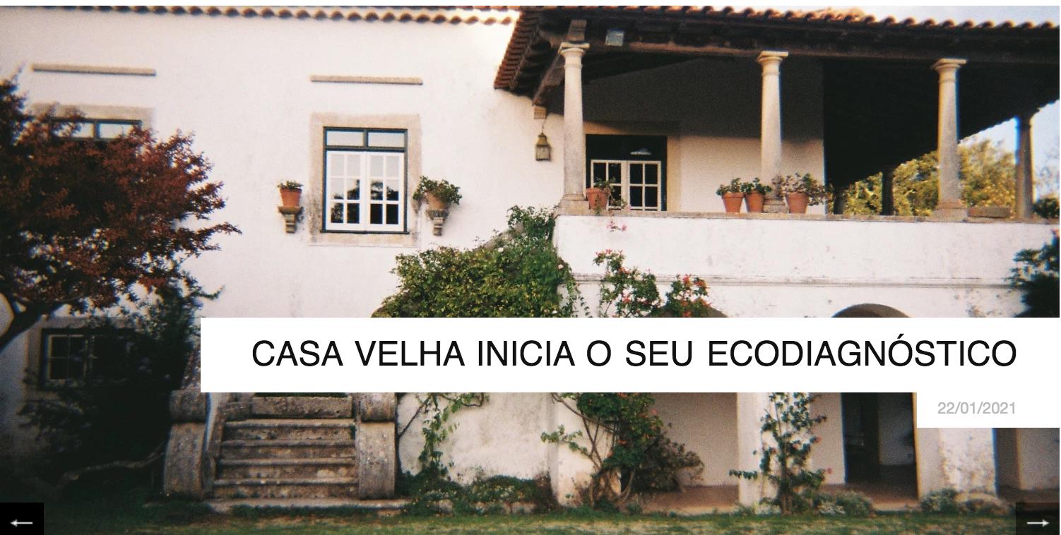 Ecodiagnostic starts in Casa Velha