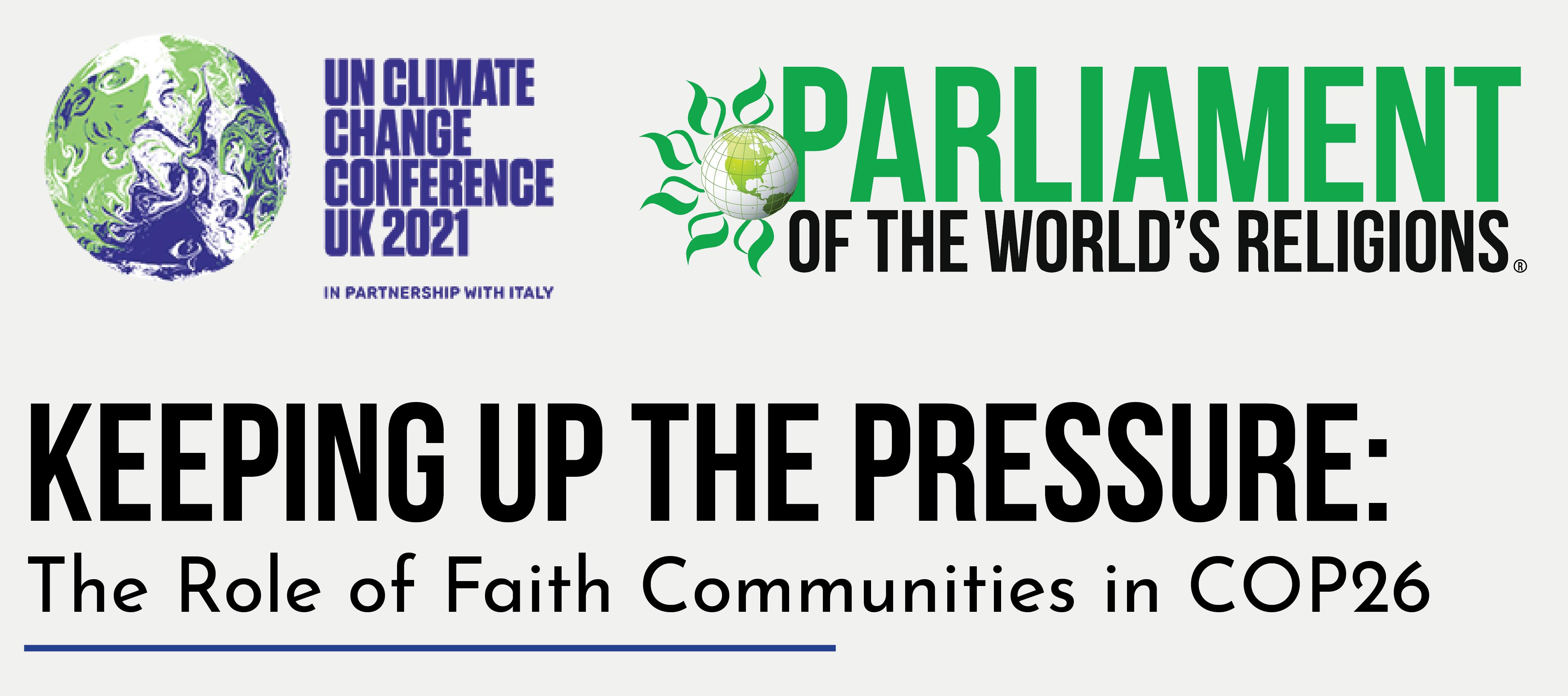 Faith communities in COP26