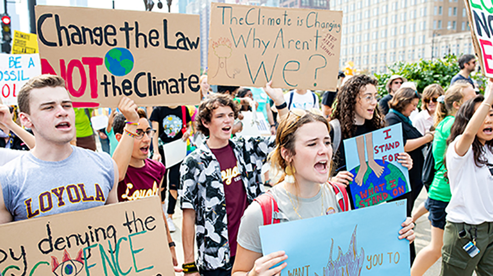 Youth in climate action: Loyola 2021 Virtual Annual Climate Change Conference