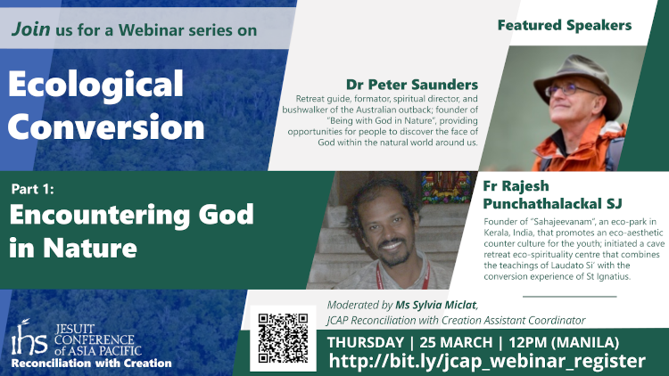 Encountering God in nature: A webinar on ecological conversion