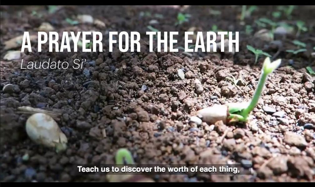 Prayer for the Earth (video) from Laudato Si'
