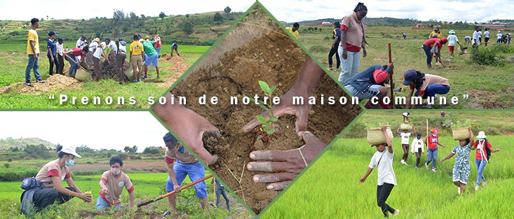 Centre Arrupe Madagascar: Commitment and action for the environment and for climate justice
