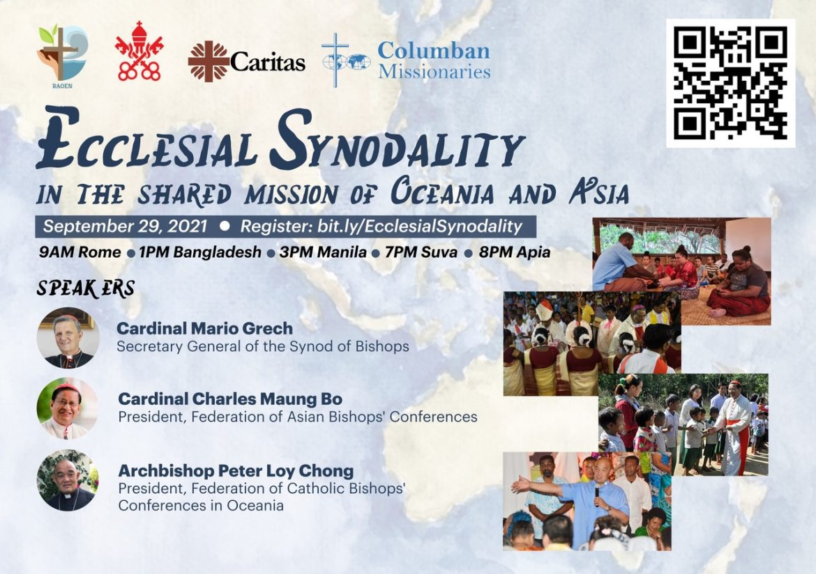 Ecclesial synodality in the shared mission of Oceania and Asia