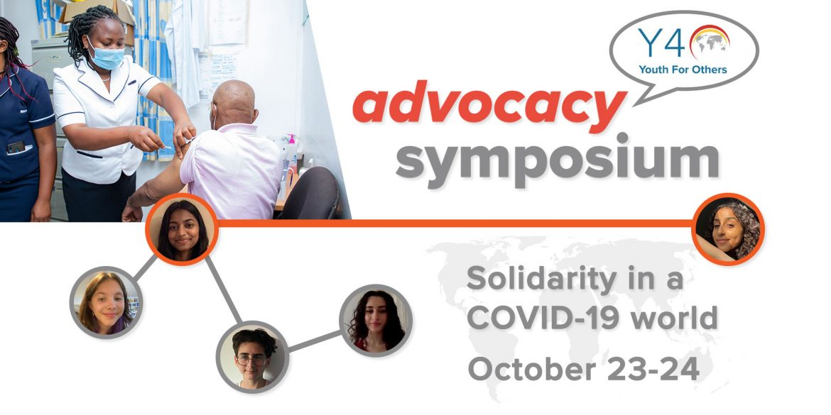 Solidarity in a COVID-19 world, a youth advocacy symposium